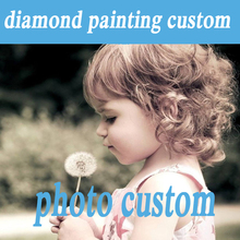 Photos Custom Make Your Own Diamond Painting Custom Full Drill Daimond Rhinestone 5d DIY Painting embroidery Cross Stitch Pasted