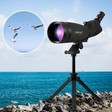 Visionking 30-90×100 Angled Spotting Telescope Scope Professional Waterproof Travel Scope Monocular Bird Watching Camping Tools