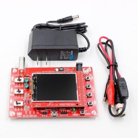 "DSO FNIRSI-138 2.4"" TFT Pocket-size Digital Oscilloscope Kit DIY Parts Handheld+9 v adapter Pakistan"