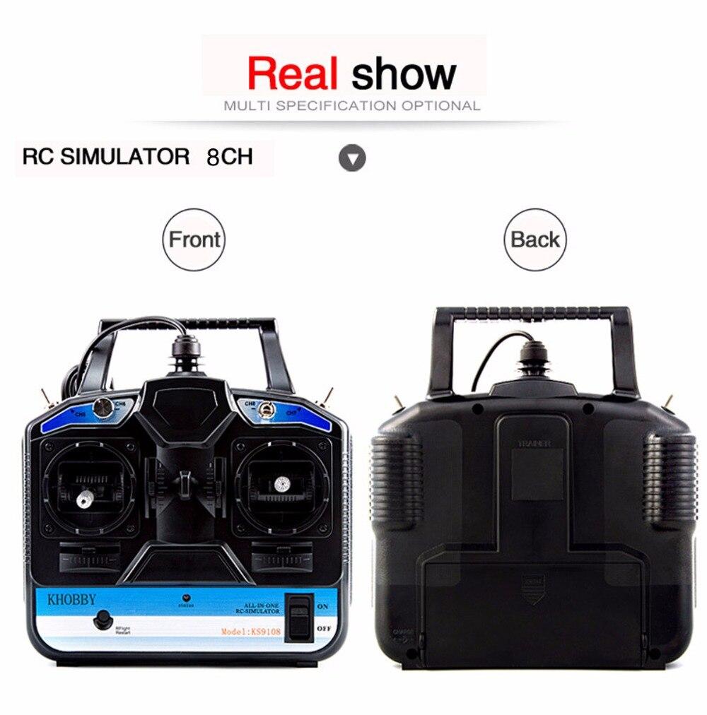 FLASH SALE] DTXMX 8CH RC Flight Simulator support Realflight