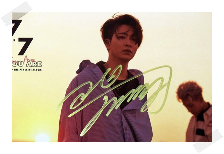signed GOT7 GOT 7 Choi Young Jae autographed photo  7 FOR 7 6 inches free shipping 102017B got7 got 7 youngjae kim yugyeom autographed signed photo flight log arrival 6 inches new korean freeshipping 03 2017