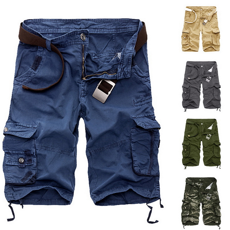 Laamei Cargo   Shorts   Men Cool Camouflage Summer Cotton Casual Mens   Short   Pants Brand Clothing Comfortable Camo Male Cargo   Shorts