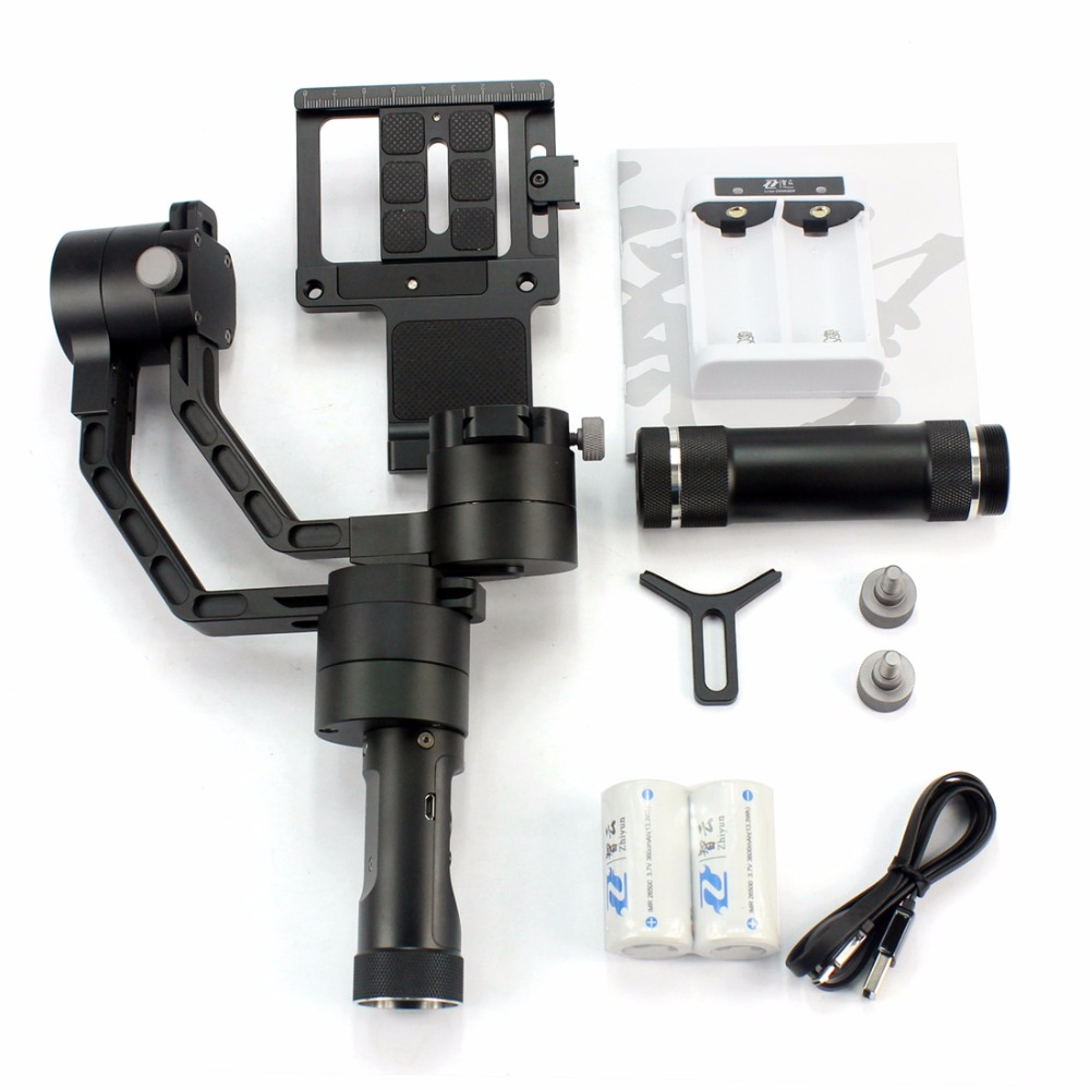 Zhiyun Crane V2 3 axi handheld stabilizer 3-axi gimbal for DSLR Canon Cameras Support 1.8KG F18164 for nissan qashqai j11 2014 2015 2016 stainless steel interior rear trunk bumper sill plate guard pedal protector car accessory page 4