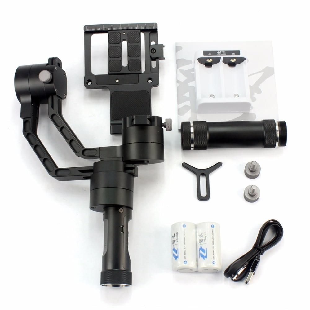 Zhiyun Crane V2 3 axi handheld stabilizer 3-axi gimbal for DSLR Canon Cameras Support 1.8KG F18164 zhiyun crane 3 axis handheld stabilizer gimbal for dslr canon cameras support 1 2kg pk beholder ds1 ms1 dhl ems free