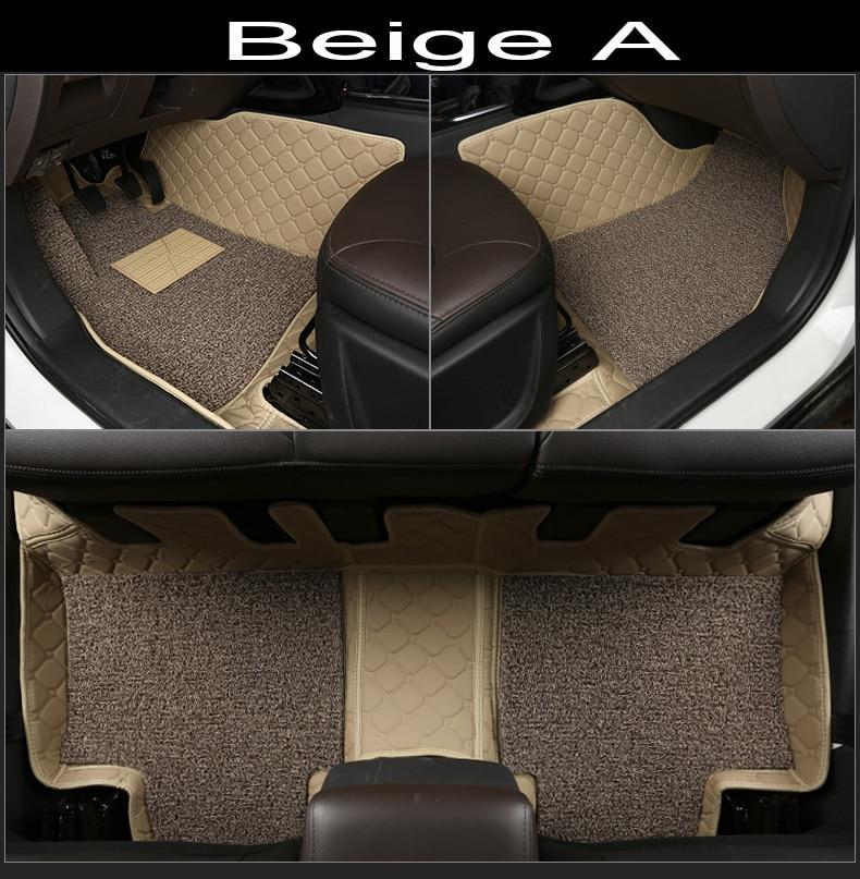 Auto Fußmatten Für Toyota Land Cruiser 200 Prado 150 120 Rav4 Corolla Avalon Highlander Camry Auto Styling Liner