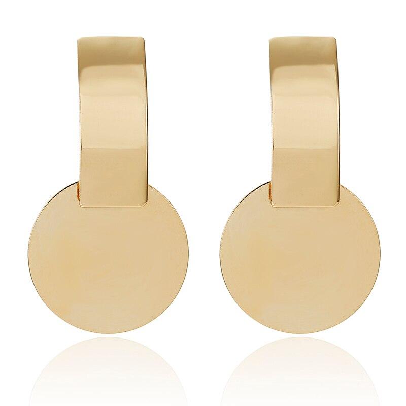19 Big Geometric Earrings Fashion Statement earrings For Women Hanging Dangle Earrings Drop Earrings modern Jewelry 571 13