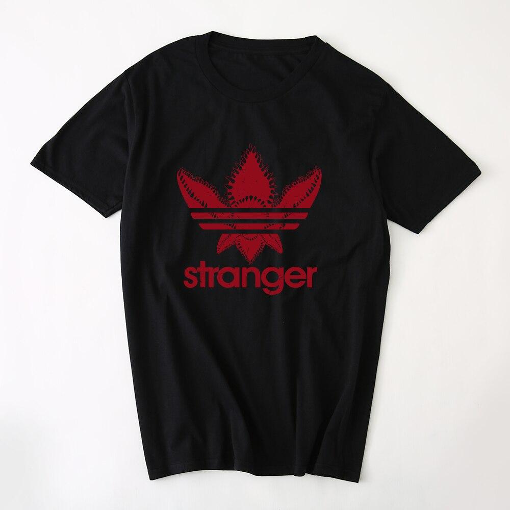 Hillbilly New Fashion Stranger Things Upside Down T-shirts for Men & Women Unisex Clothing Womens Tops Short Sleeve Cotton Tees
