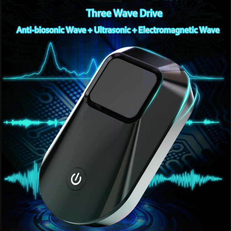 強化版電子猫多機能超音波アンチ蚊ラットマウス害虫忌避キラー人間 & ペット可