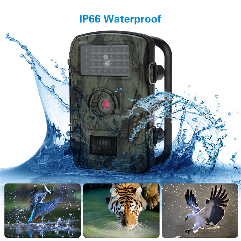 Scouting chasse caméra piège HC300M nouveau HD 1080 P GPRS MMS numérique caméra de sentier infrarouge GSM 2.4 'LCD IR chasseur caméscope