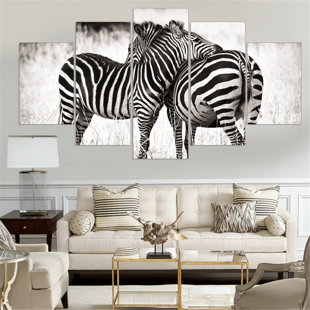 Canvas painting cuadros decoracion wall art home decor for 5 piece living room packages