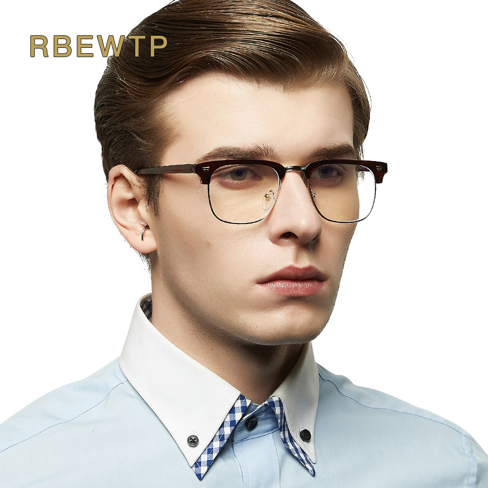 RBEWTP TR90 Blue Light Blocking Glasses led Reading Glasses Radiation-resistant Glasses Computer Gaming eyeGlasses Frame Eyewear