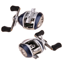 Left Hand High-tensile Gear Bait Casting Fishing Reel High Speed Hand Wheel Fish Reel 0.35MM/140M Line Capacity Fishing Tool