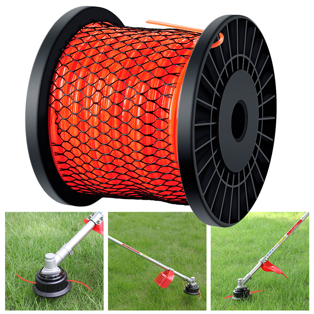 2.4mm/2.8mm/3mm Grass Trimmer Line 100m Strimmer Brushcutter Trimmer Nylon Rope Cord Line Long Round/Square Roll Grass Rope Line2.4mm/2.8mm/3mm Grass Trimmer Line 100m Strimmer Brushcutter Trimmer Nylon Rope Cord Line Long Round/Square Roll Grass Rope Line