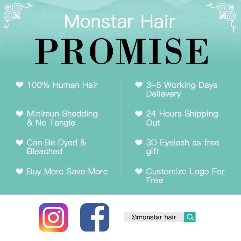 Monstar 1/3/4 extensiones de cabello rubio 613 paquetes de tejido de cabello brasileño onda del cuerpo Remy cabello humano 22 24 26 28 30 32 34 36 pulgadas
