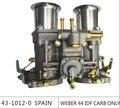Para venda!!! weber 44 carburador IDF CARBURADOR para bug/besouro/vw carburador dellorto com trumple chifre