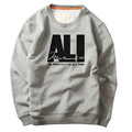 the greatest of the time ALI cool printed hoodies autumn Fitness Mens Sweatshirts Long Sleeve Sweatshirt High Quality Hoodies