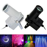 Thrisdar 10W RGB Beam Pinspot Disco DJ Stage Lights KTV Bar Spotlight Party Wedding Stage Lamps Reflective Glass Ball Light