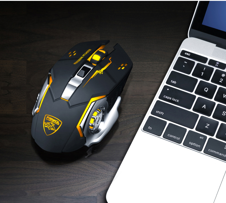Mouse Pad for Laptop FF1 Ergonomic Design Unique Patterns Premium Gel Mouse Pad with Wrist Support Matching Microfiber Cleaning Cloth for Glasses /& Electronics PC Computer /& Mac