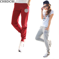 Plus Size 2015 New 100 Cotton Pants Women Sport Pants Casual Loose Thin Trousers Ankle Length