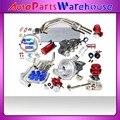 Турбо комплекты интеркулер комплект + водостоке для 97 - 01 C * ivi B тип R ( JDM ) 1.6L DOHC VTEC 1 - 4