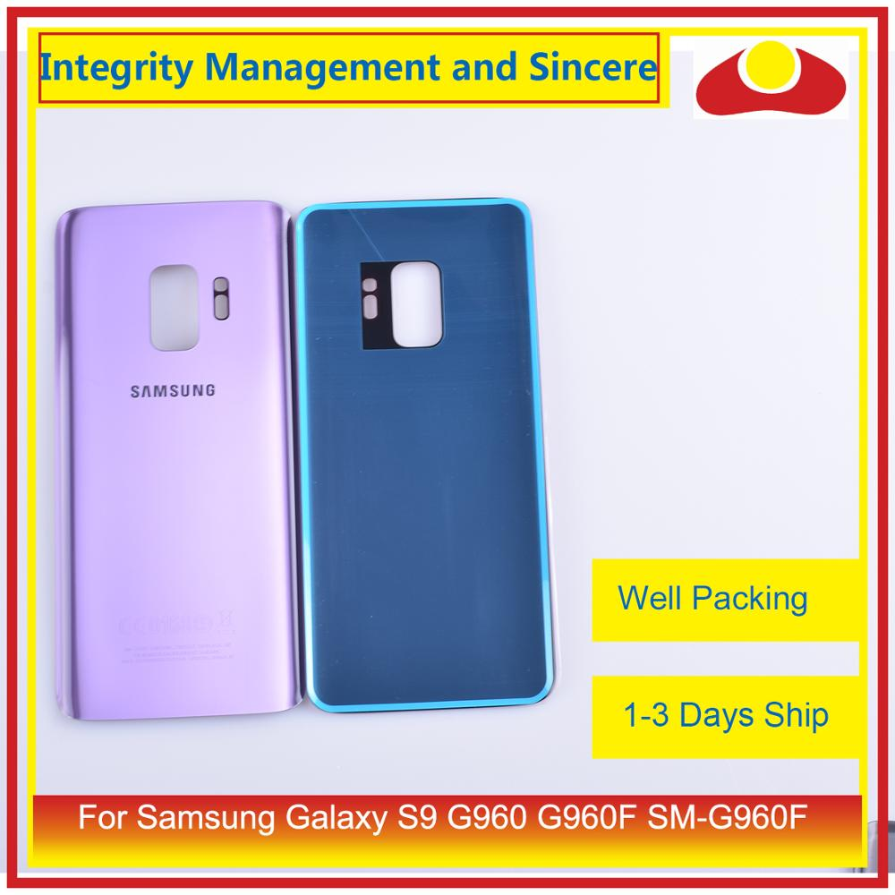 Image 3 - Original For Samsung Galaxy S9 G960 G960F SM G960F Housing Battery Door Rear Back Glass Cover Case Chassis Shell-in Mobile Phone Housings & Frames from Cellphones & Telecommunications