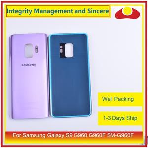 Image 3 - Оригинал для Samsung Galaxy S9 G960 G960F SM G960F корпус батарейный отсек Задняя стеклянная крышка корпус