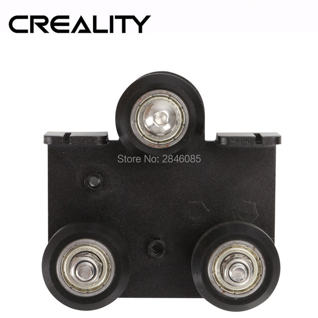 Creality 3D Facotry Supply CREALITY 3D Printer Parts Extruder back Support Plate with pulley For CR-10 CR-10S Series 3D Printer