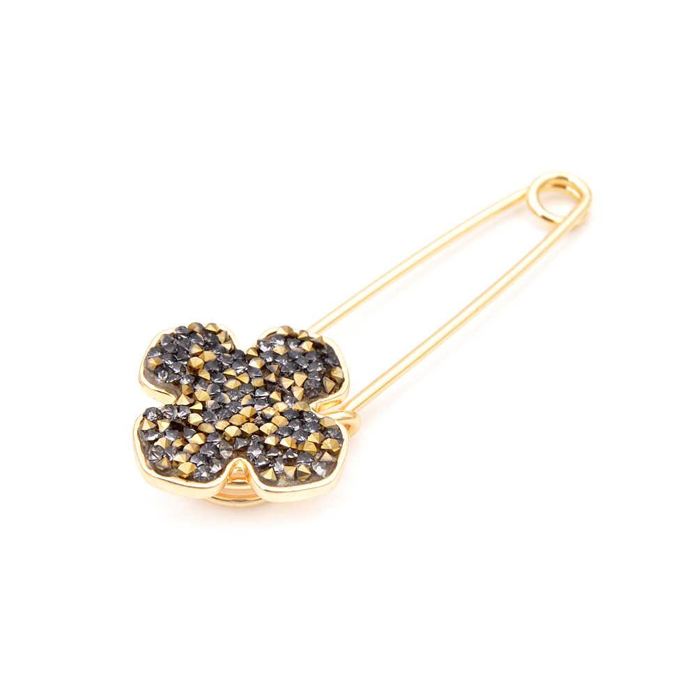 Cindy Xiang Bros untuk Wanita Sederhana Flower Fashion Pin untuk Wanita Pertemuan Perhiasan Mantel Aksesoris Kantor Teman Hadiah 2018