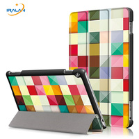 New Folding Painted Leather Stand Cover For Huawei Mediapad M3 Lite 10 BAH W09 BAH AL00