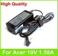 30 Вт 19 в 1.58A AC адаптер питания для Acer Aspire One A0A150 A0P531h A110 A150 AO521 AO522 AO531H AO532 AO721 AO722 зарядное устройство