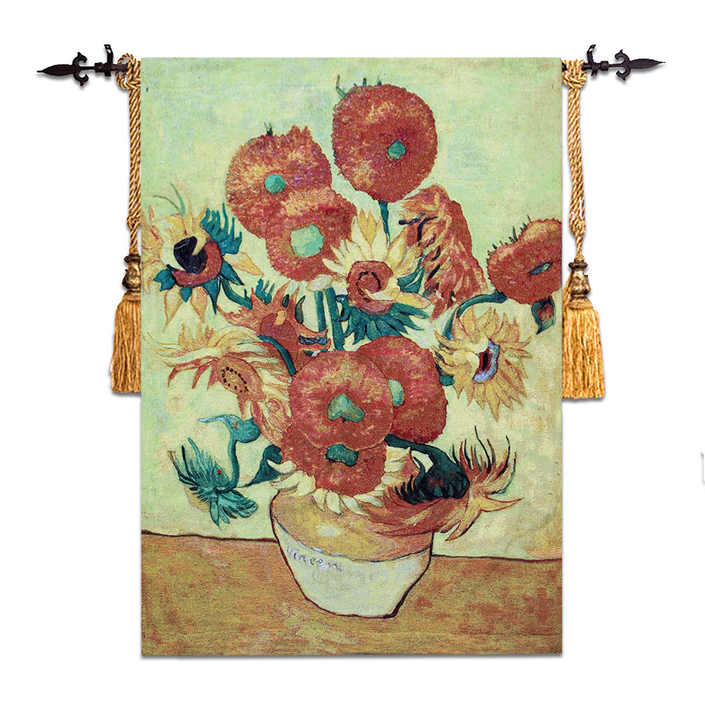 Wandteppich Modern Us 34 3 30 Off Sunflower Moroccan Decor Wall Tapestry Gobelin Fabric Cotton Goblen China Hippie Hanging Wall Tapestries Tapisserie Wandteppich In