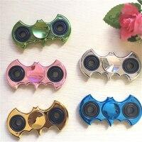 Hand Spinner Batman Metal Fidget Spinner EDC Toys Bat Stress Spinner Hand Ceramic Bearing For Autism
