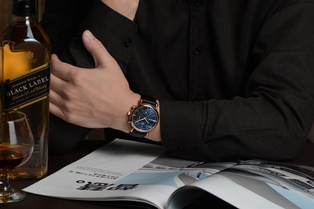 Relogio Masculino AILANG többfunkciós órák Neutrális Montre - Férfi órák - Fénykép 6