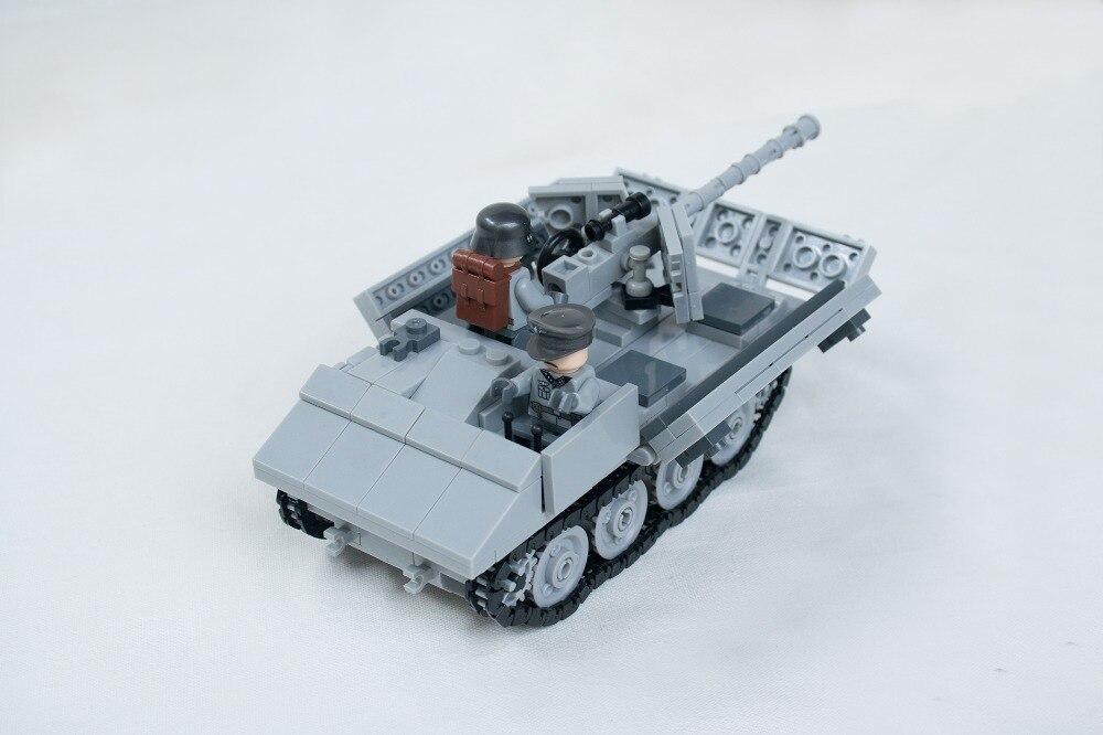 Haogaole 2017 Century Military Moc Rso Anti Tank Tractor