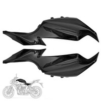 Motorcycle Carbon Fiber Gas Tank Side Cover Panel Fairing For Yamaha MT07 FZ07 2015 2016 2017 FZ 07 MT 07