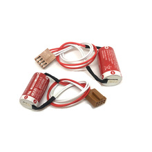MasterFire 4pcs/lot New Original MAXELL ER17/33 3.6V 1600mAh Lithium Battery Batteries with For Four- Hole Plug (ER17/33)