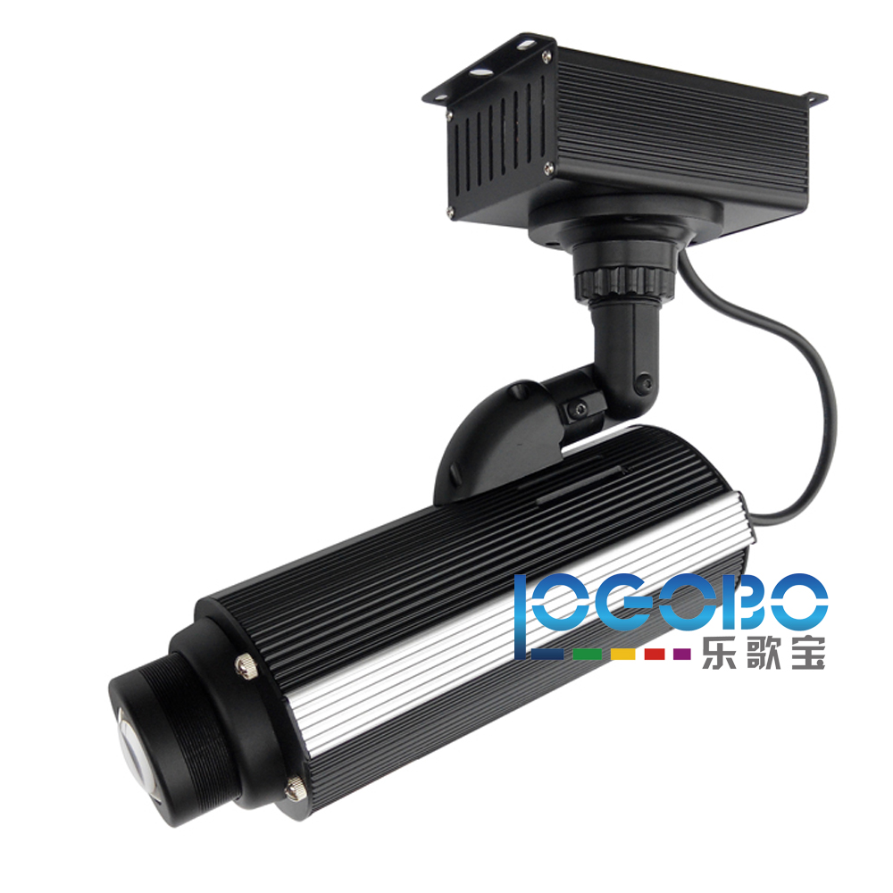Pack of 4PCS Portable Led Bar Lightings 30W Gobo Projectors Cafe Sign Sex Shop Imago Logo Projection Equipment with Gobo Rotator