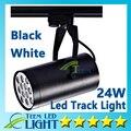 Epacket CE ROHS UL Led faixa de luz 24 W 120 ângulo de feixe Led teto holofotes Downlight AC 85 - 265 V Led spot frete grátis