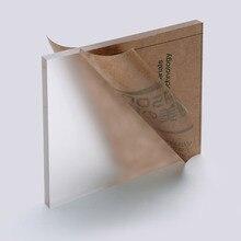Матовая акриловая панель из прозрачного плексигласа, прочная панель из плексигласа, декоративные вывески для дверей, пластиковая прозрачная вывеска