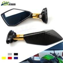 Мотоцикл скутеры Racer заднего вида сбоку Зеркало для Yamaha YZF R6 R3 R1 R25 MT 07 TMAX 530 500 Kawasaki z 800 900 1000