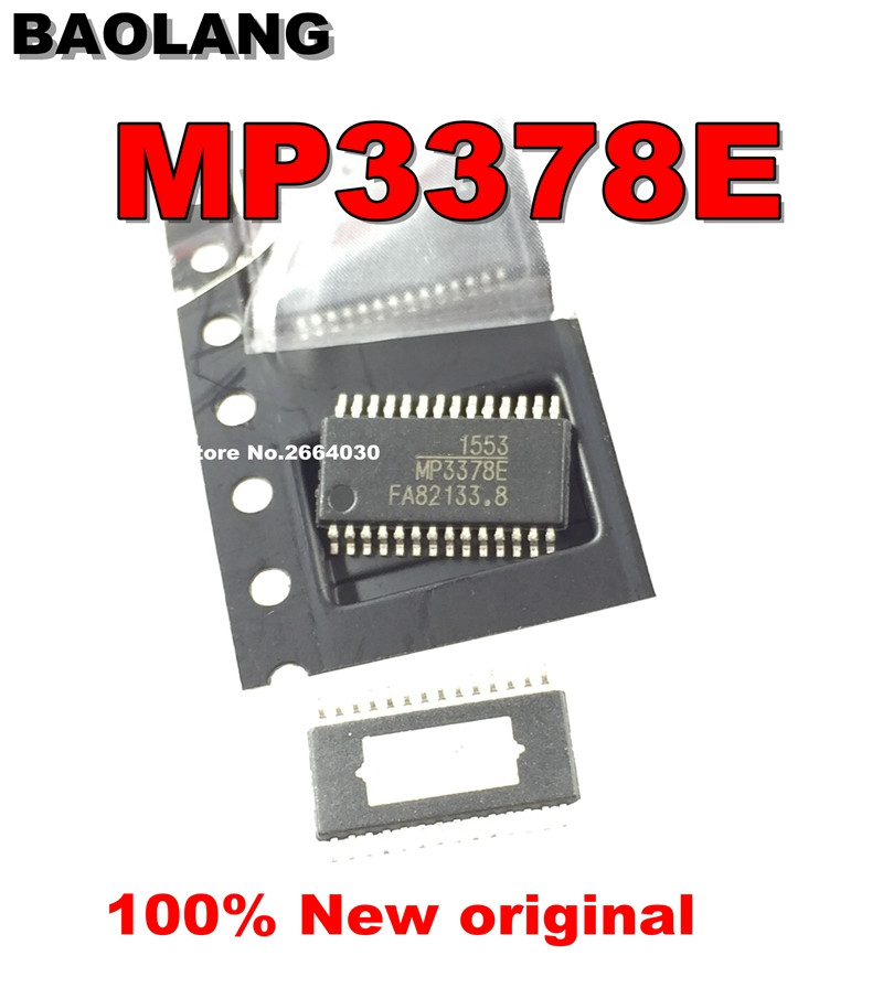 5PCS MP3378E MP3378 TSSOP-28 100%NEW