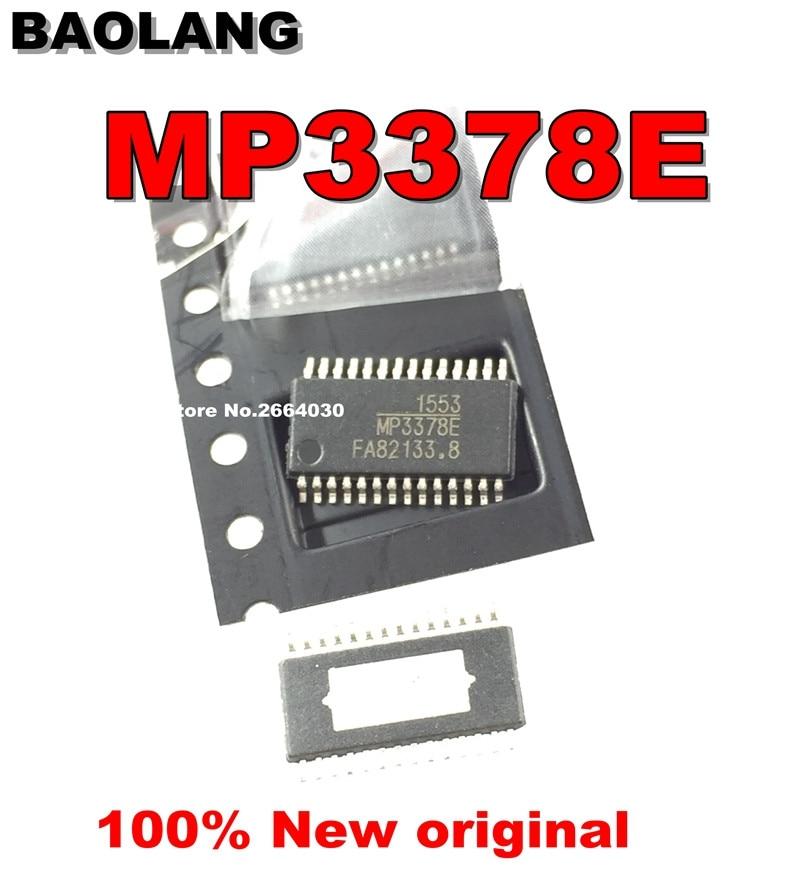 5PCS MP3378E MP3378 TSSOP-28 100%NEW free shipping 5pcs in stock 324a st324a lm324a tssop