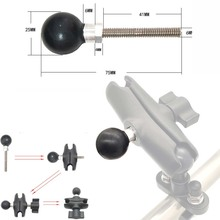 """JINSERTA Base de accesorio de bola de 1 """"para cualquier brazo de toma de tamaño B para montaje en ram"""