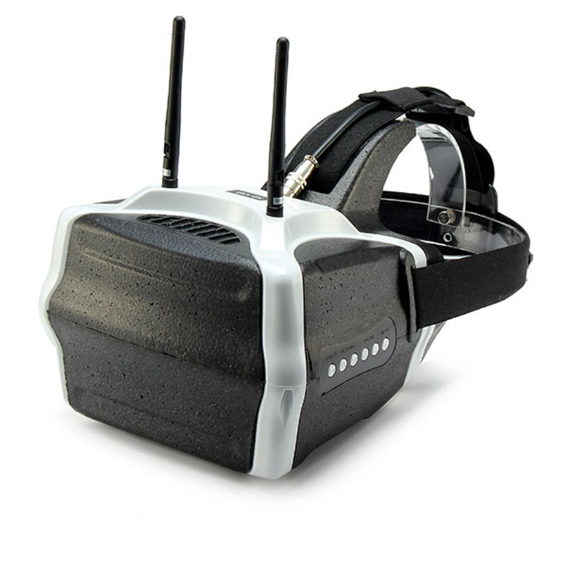 Originale SJ-V01 5.8G 40CH FPV Occhiali 7 Pollice 1280x800 HD Occhiali Video con Ingresso