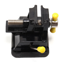 Sucker Type Clamp Aluminium Alloy Table Bench Vise Press Clamp Rubber Suction Base For Carving Engraving