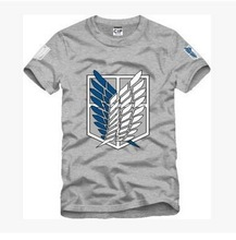 Unisex AOT O Neck Casual T-Shirt