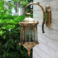 Popular retro outdoor wall light favorable europe villa sconce lamp waterproof exterior garden doorway lighting hot sale