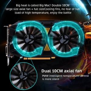 Image 4 - Carte graphique MAXSUN rx 580 2048SP grand Mac plus 8G amd GDDR5 256bit 7000MHz 1168MHz PCI Express X16 3.0 14nm rx580 carte vidéo