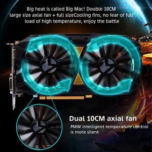 Image 4 - MAXSUN ekran kartı PC rx 580 2048SP büyük Mac artı 8G amd GDDR5 256bit 7000MHz 1168MHz PCI express X16 3.0 14nm rx580 ekran kartı