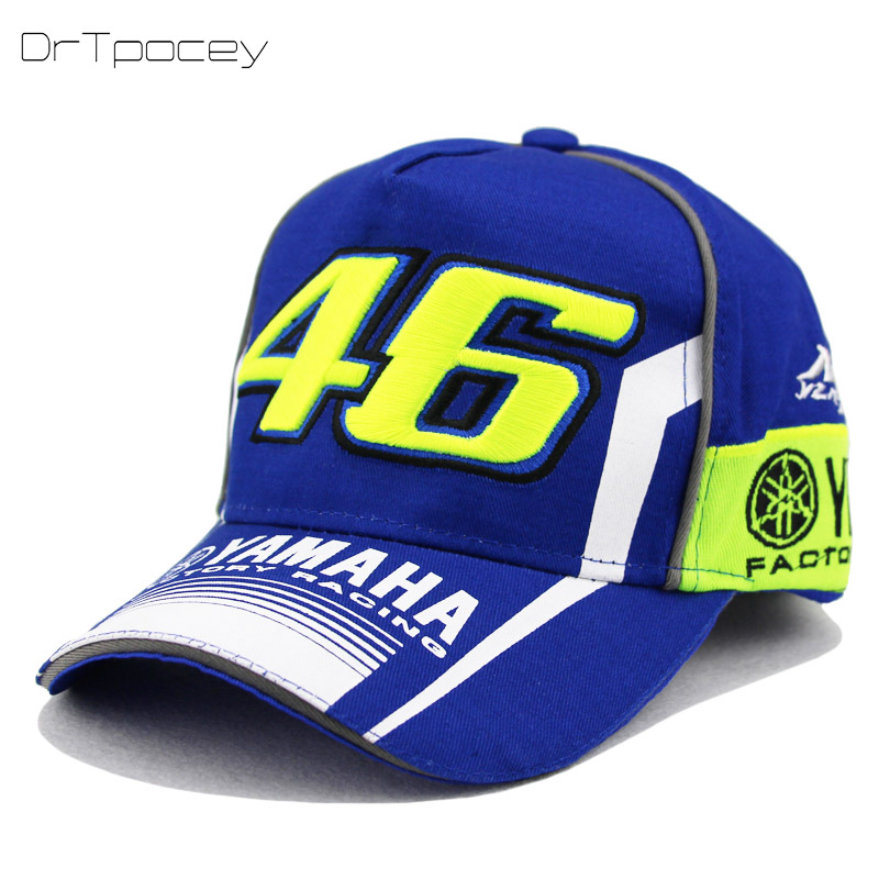 Rossi VR46 Baseball Cap YAMAHA Hats MOTO GP 46 Motorcycle 3D Embroidered F1 Racing Cap Men&Women Snapback Caps Truckers Dad hats кардиган be in be in mp002xw1ai2s